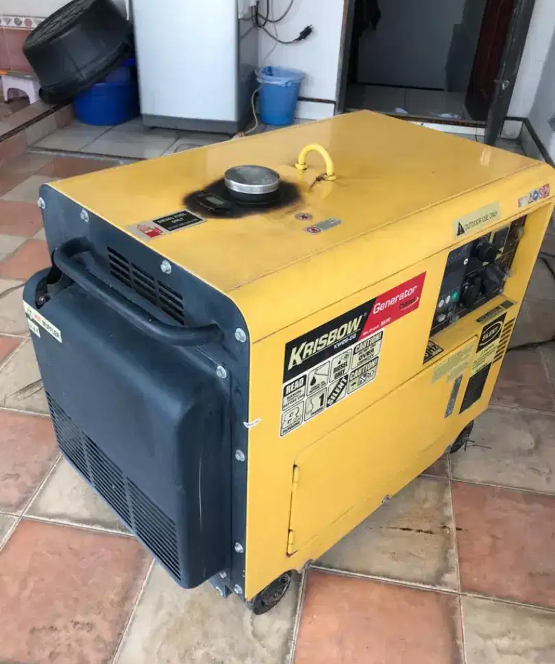 Produk Generator Set Mini